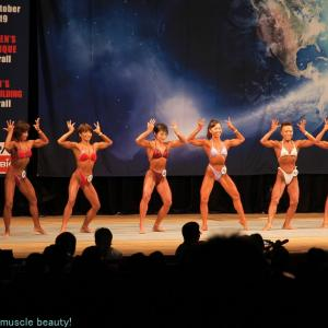 Results and digest of Japan Women's Physique Championships