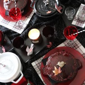 【STAUBトゥモローランドでクリスマス セッティング】秋にぴったりな発色グレナディンレッド!!