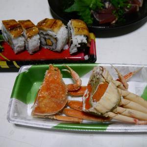 せこ蟹好きなんです & 献立日記 トンテキ 豚足スープ 味噌煮込みうどんなど