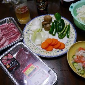 ジンギスカン ロコモコ丼