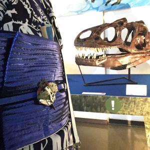 浴衣で博物館♪恐竜ワールドのレポその2