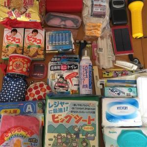 【防災グッズ】幼児がいる家の非常用持ち出し袋