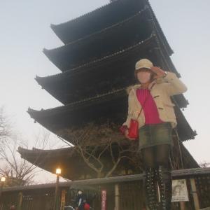 八坂の塔にて幻想的な古都の夕暮れを独り占め…!?