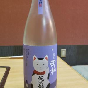 玉柏 純米原酒 招き猫