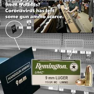 何と戦う気だアメリカ人。米国スーパーの棚から弾薬が消えた…。