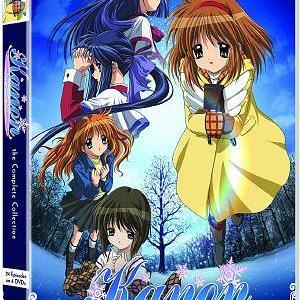 願いと約束と奇跡の物語。 Kanon-カノン-【北米版DVD-BOX】