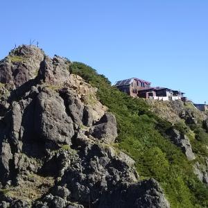 八ヶ岳南麓縦走 キレット小屋泊