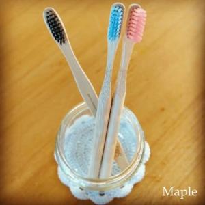 Plastic Free July - ②竹製の歯ブラシ