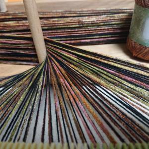 編み物用糸は裂き織りに使えるか?