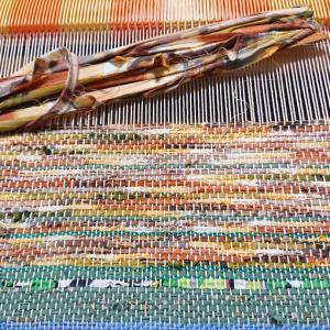 夏のマイバッグを作ろう  裂き織り&ジュート