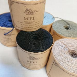麻&裂き織り 4個目 色違いは難しい