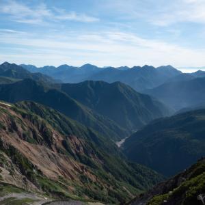 薬師岳・8月中旬|薬師岳周辺のんびり散歩|折立〜薬師岳〜薬師沢