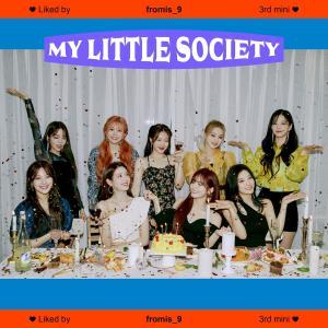 fromis_9が遂にカムバック!My Little Societyはファンクばりばりのアルバム