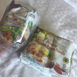 世界一の袋麺?ペナンホワイトカレーヌードルを買う、黄色いカフェ~ペナン⑫~