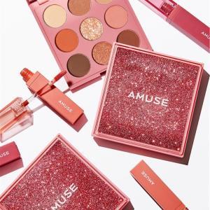 【韓国アイドル風メイクに◎】AMUSE(アミューズ)のソンスドンアイパレットを全色スウォッチ!