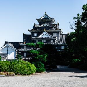 早朝に岡山城を探索すると素晴らしかった件