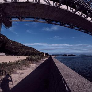FUJIFILM X-Pro3 + 魚眼レンズで瀬戸大橋を撮ったら、迫力満点でござる