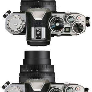 NikonのAPS-C機に、Nikon Df風のレトロカメラが出るみたいですね。