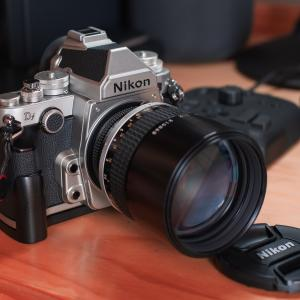 Nikon Df + Ai-S Nikkor135mmF2で撮る紫陽花があまりに素晴らしすぎて悶絶した件