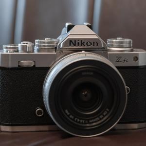 Nikon Zfcを触ったでござる