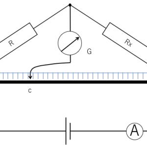 電磁気 メートルブリッジ
