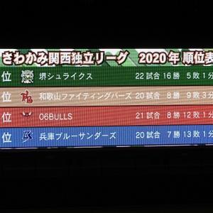 堺シュライクス優勝!