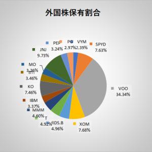 2020年3月末時点でのポートフォリオ、投資結果と配当推移