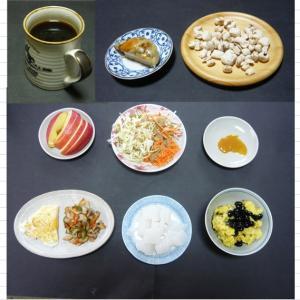 山本84歳・食事療法の記録・令和2年5月25日の食事