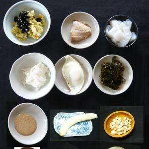 山本84歳・食事療法の記録・令和2年7月1日の食事