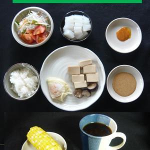 山本84歳・食事療法の記録・令和2年7月6日の食事