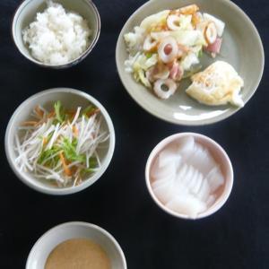 山本84歳・食事療法の記録・令和2年7月11日の食事