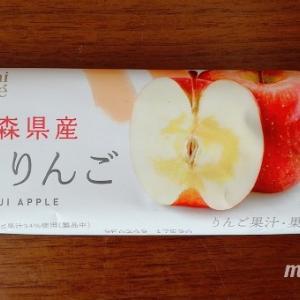 ローソン 日本のフルーツ 青森県産ふじりんご さくっしゃりっとろっ!食感楽しいりんごアイスバー
