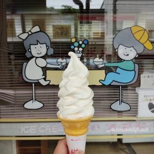 新発田市 アイスクリームショップスギサキ ソフトクリーム