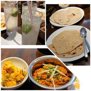 今月のインド料理教室