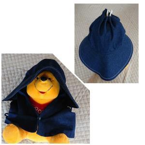 お裾分けとお手製の帽子