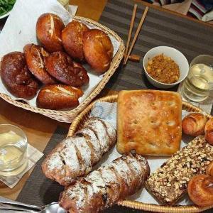 パンと料理の持ち寄り会