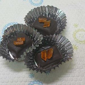 チョコレートとわらび餅
