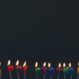 天国では忌日が誕生日。