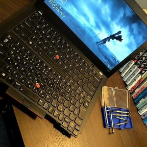 今更感があるけどthinkpadX280をUSキーボードに換装。