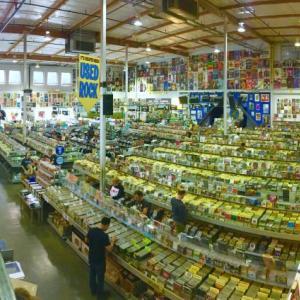 ハリウッド 最大級のアナログレコード店でレコードを買う
