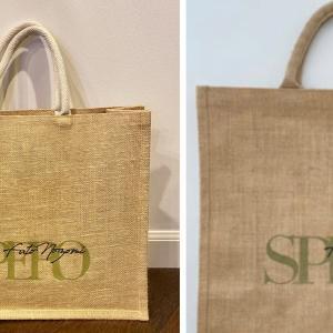 ジュートバッグのサイズと持ち手の色が変更…❤️望海風斗『SPERO』コンサートグッズ