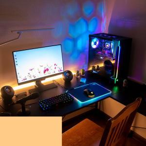 【6畳部屋を綺麗にしたい③】机を買い替えて自作PCをのせた