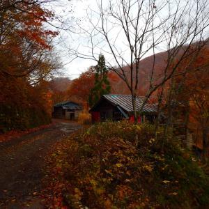 飛騨荘川の謎の吊り橋と廃村