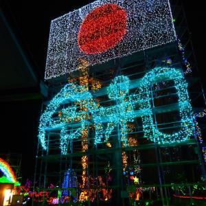 イルミネーションフェスタ2019inあま、木曽三川公園センター・冬の光物語