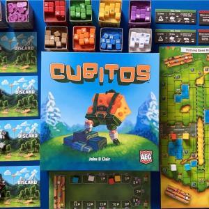 CUBITOS〜見た目が可愛いダイスを使ったレースゲーム〜【ルール・レビュー】