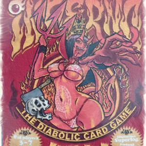 【カードゲーム紹介】インフェルノ〜このまま出し続けるのか引き取るのかチキンレースが楽しいカードゲーム〜
