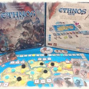 【ボードゲーム紹介】エスノス 〜様々な部族の力を借りながらの陣取りが楽しいゲーム〜