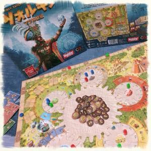 【ボードゲーム紹介】ツォルキン 〜歯車のギミックが秀逸なワーカープレイスメント〜