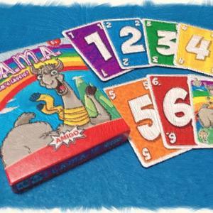 【カードゲーム紹介】ラマ〜まだ引いちゃう?やっぱりおりる?「1.2.3.4.5.6.ラマ!」〜