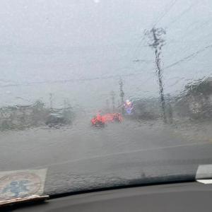 9月23日   台風だっ・・・